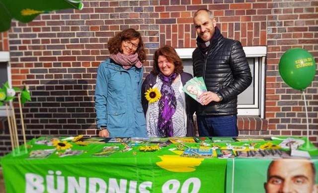 Besuch unseres Oberbürgermeisterkanditaten Belit Onay in Misburg und Anderten